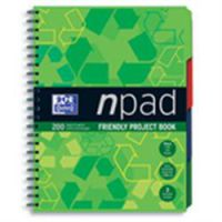 A4 Note Pad Hard Cover Project Books
