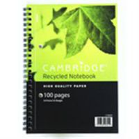 Cambridge Note A4 Recycle Ruled with Margin Wirebound Books -  ( 15025 )