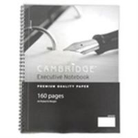Cambridge A4 Executive Wirebound Books -  ( M76767 )