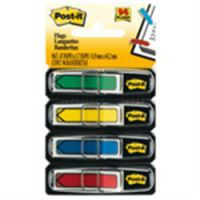 Post It Index Arrows 12mm Red Blue Yellow Green and Pink