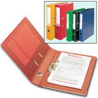 Rexel Colorado Lever Arch File Foolscap 80mm Yellow