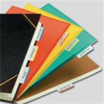 Post It Strong Filing Tabs Pack 24 Assorted