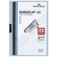 Durable Duraclip 3mm A4 Folder Blue