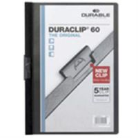 Durable Duraclip 6mm A4 Folder Black