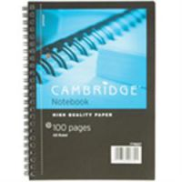 Cambridge Wirebound Books A5 Ruled without Margin