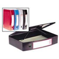 Plastic Box File Grey