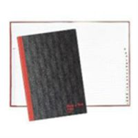 Black n Red Casebound Book A5 Index A-Z