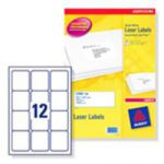 Avery Laser Labels 63.5 x 72mm