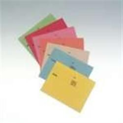 Square Cut Folder Medium weight Foolscap Red