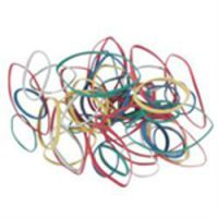 Coloured Assorted Sizes Rubber Bands